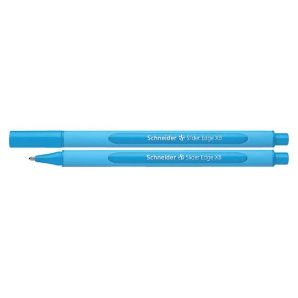 Balpen schneider slider edge xb lichtblauw(s-152210)