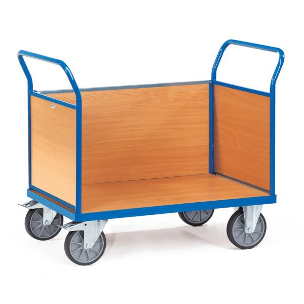 Driewandwagen, 1000x700mm Draagverm. 600kg