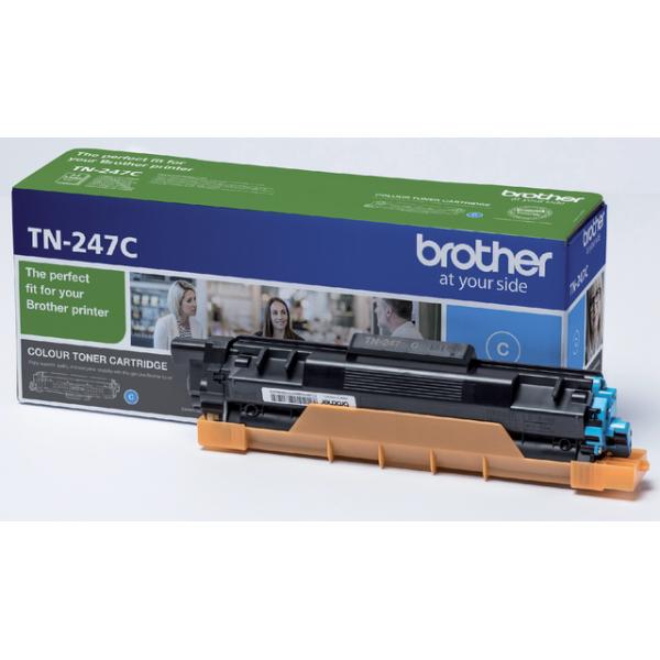 Toner brother tn-247 2.3k blauw(tn247c)