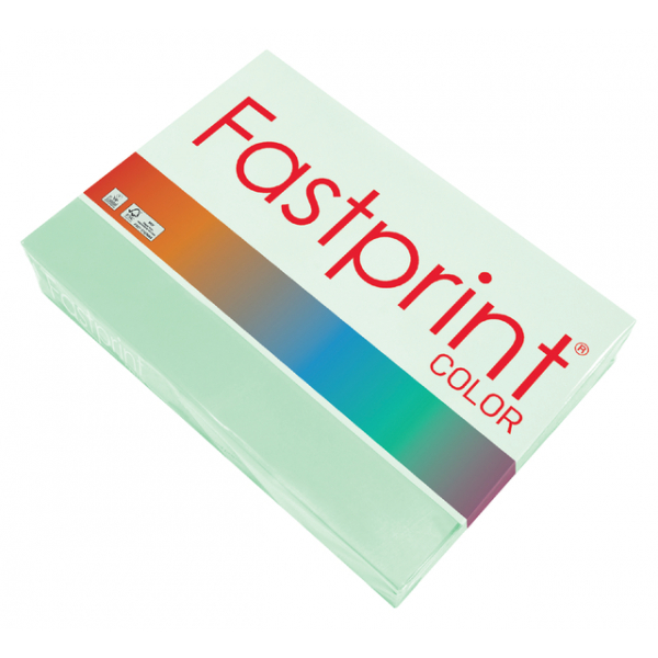 Kopieerpapier fastprint kleur a3 120gr appelgroen