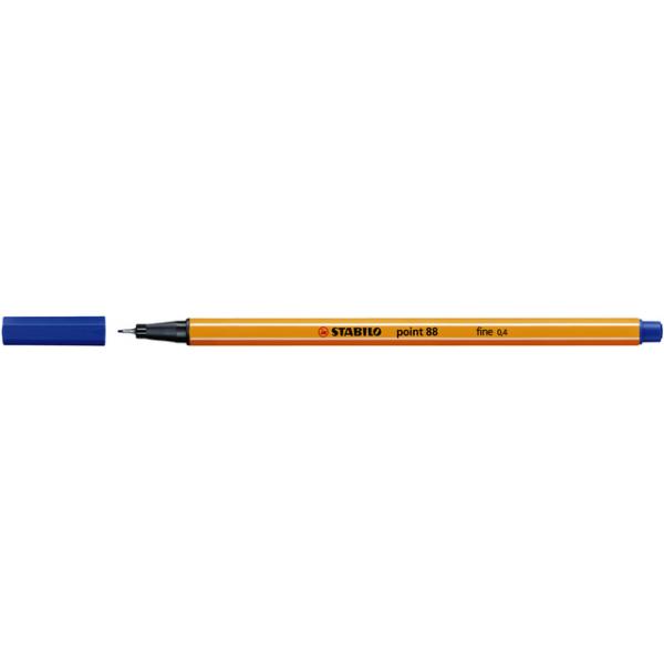 Fineliner stabilo point 88 blauw