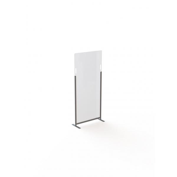 Acrylaat vrijstaande veiligheidspanelen, 80x120cm