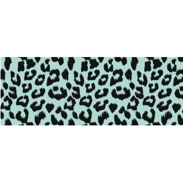 Cadeauzakje,12x19cm, Leopard gold-mint