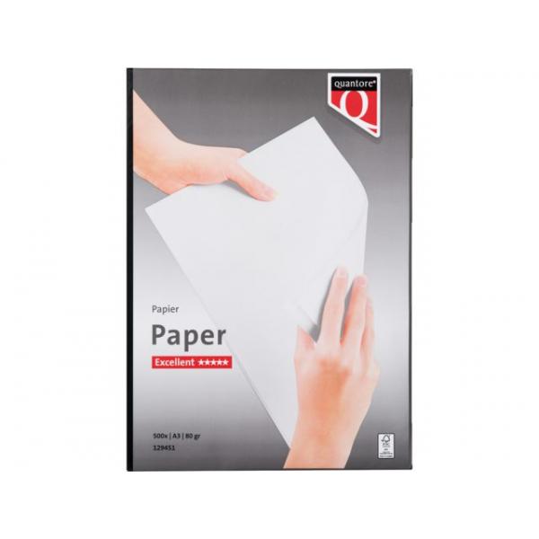Kopieerpapier quantore excellent a3 80gr wit