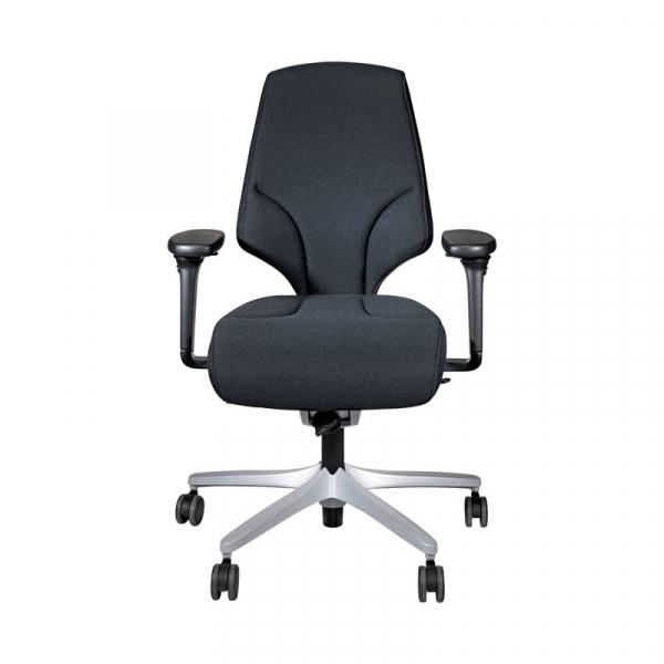 Bureaustoel Giroflex 64-4578, 4D-NPR, CMF gestoffeerd. Hoge rug, extra zitdiepte