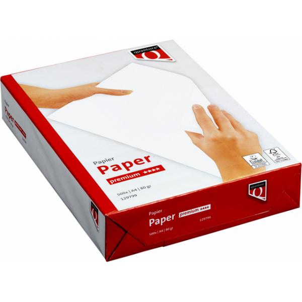 Kopieerpapier quantore premium a4 80gr wit