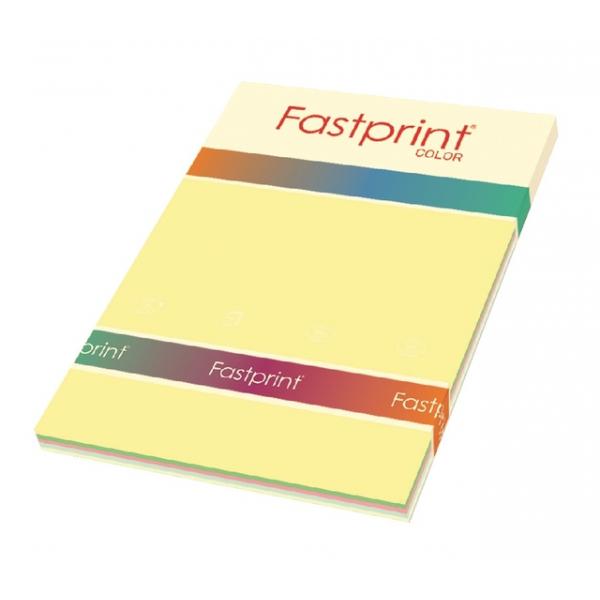 Kopieerpapier fastprint a4 80gr 5 kleur pastel