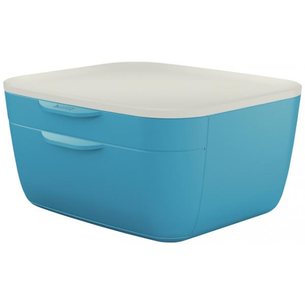Ladenblok leitz cosy 2 laden blauw(53570061)