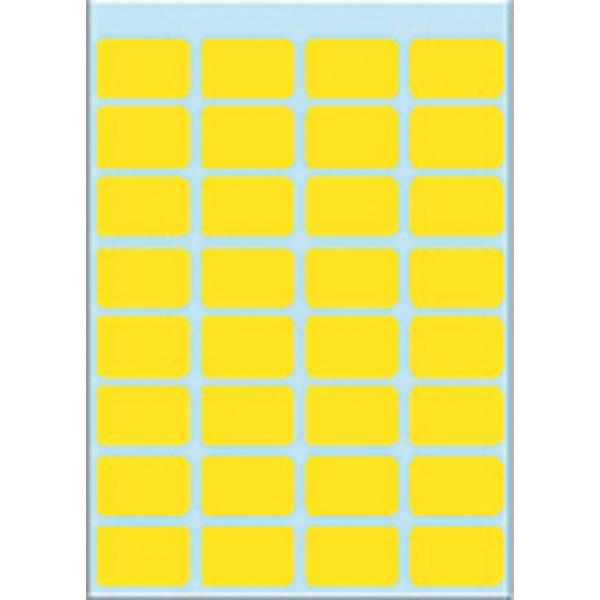 Etiket herma 3641 12x19mm 224st geel