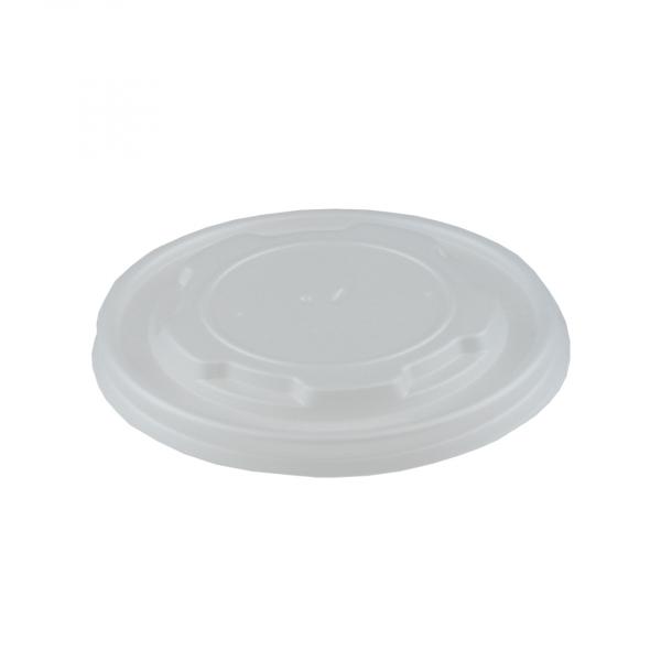 Deksel, milkshake beker, PLA, 90mm (1000 stuks)