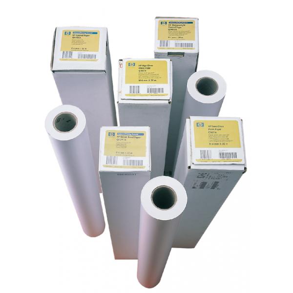 Inkjetpapier hp q1441a 841mmx45.7m coated 90gr