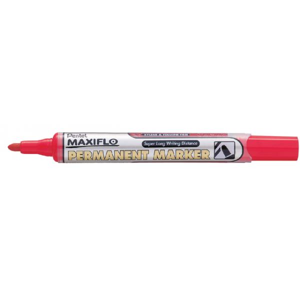 Viltstift pentel nlf50 maxiflo rond 1.5-3mm rd