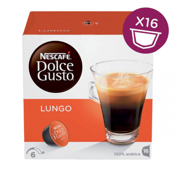 Dolce gusto lungo 16 cups(5219842)
