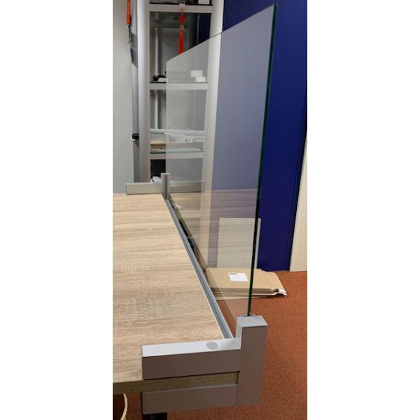 Kuchscherm Bureau klemsysteem 1004 x 182 x 688 mm