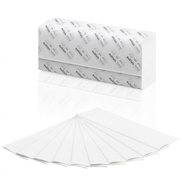 Satino Comfort, 277340, 2 laags handdoek, 20.6x32cm (3000st)