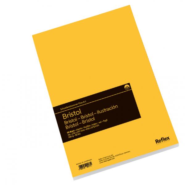 Tekenblok sh bristol a4 spiraal 50vel 180gr(vf5004290)