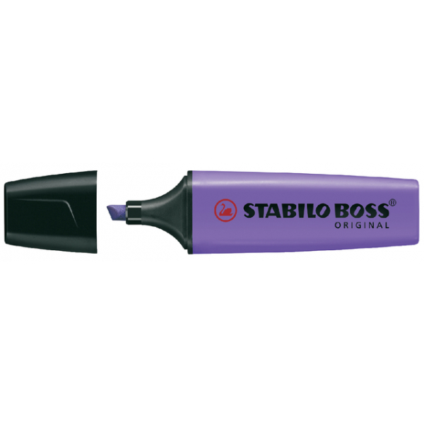 Markeerstift stabilo boss lavendel