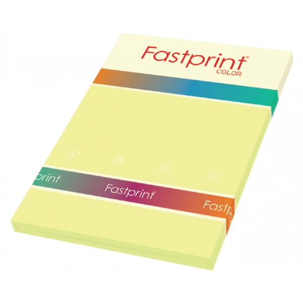 Kopieerpapier fastprint a4 160gr kanariegeel