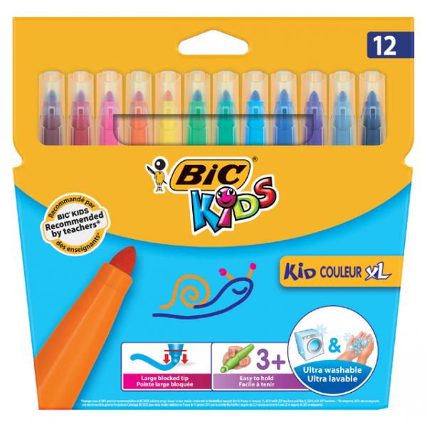 Kleurstift bic 219 kid couleur brede punt 1131