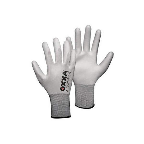 Oxxa X-Touch, PU, wit, droge montage, XL (3 paar)