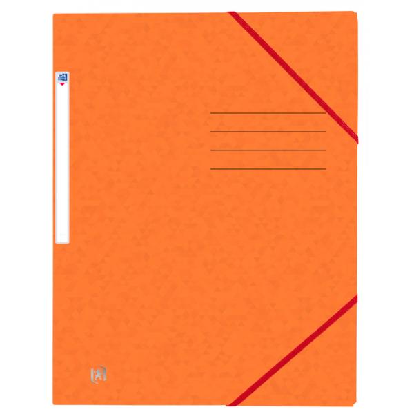 Elastomap oxford top file+ a4 oranje(400116307)