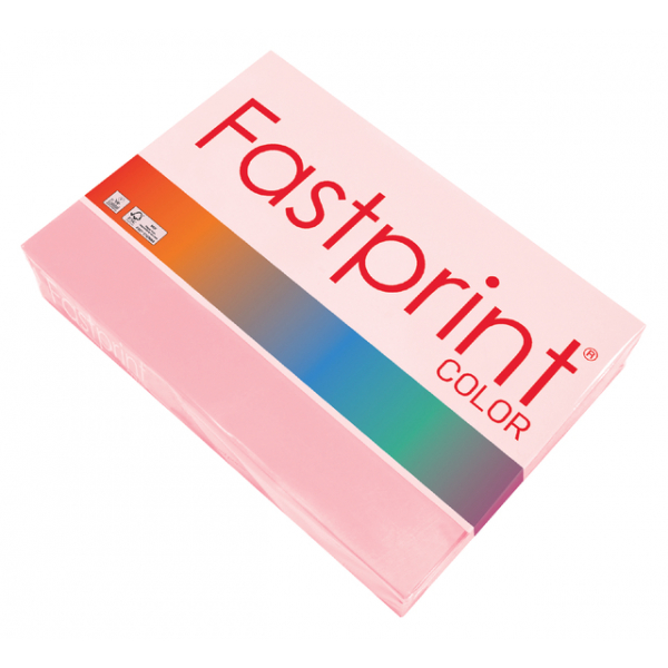 Kopieerpapier fastprint a3 80gr roze