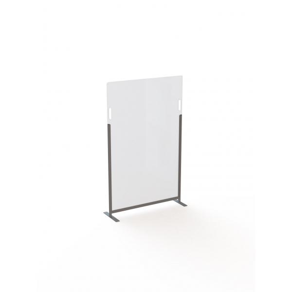 Acrylaat vrijstaande veiligheidspanelen, 100x160cm