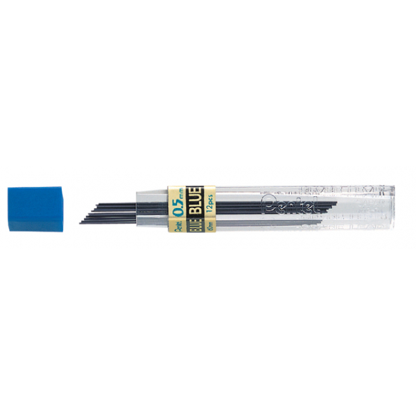 Potloodstift pentel 0.5mm ppb-5 blauw