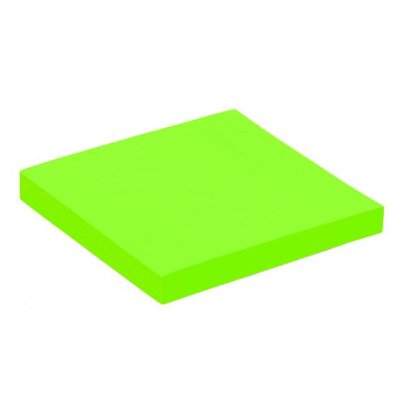 Memoblok quantore 76x76mm neon groen(392384)