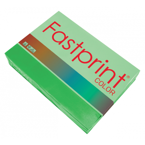Kopieerpapier fastprint a4 80gr grasgroen