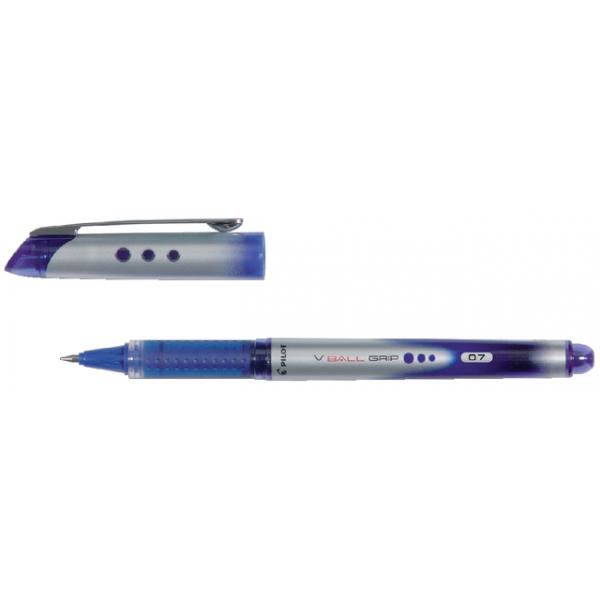 Rollerpen pilot v-ball grip bln-vbg-7 0.4mm blauw