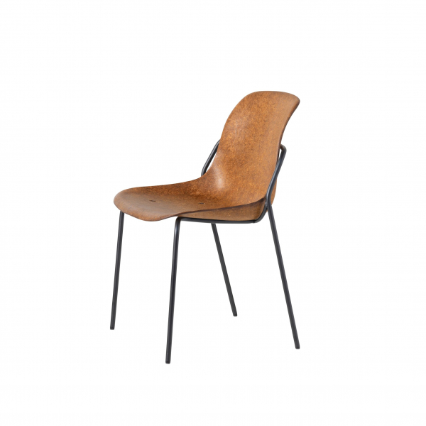 4-poots stoel Hemp-Fine zonder armlegger