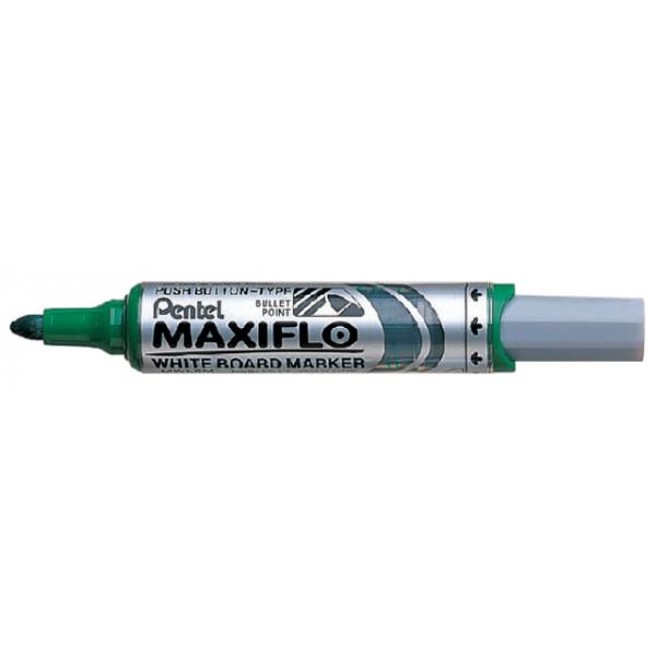 Viltstift pentel mwl5m maxiflo whiteboard 3mm gr