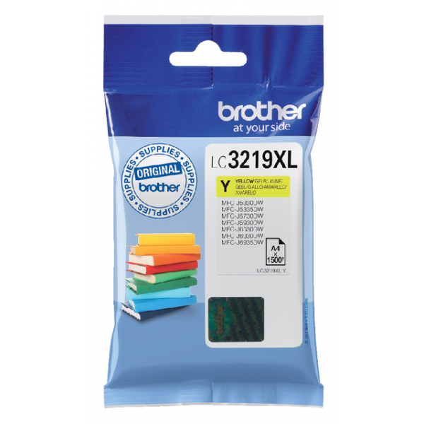 Inkcartridge brother lc-3219xl geel(lc3219xly)