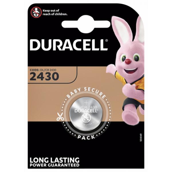 Batterij duracell dl2430 lithium