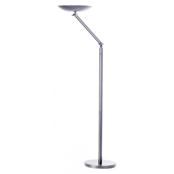 Vloerlamp unilux varialux led verstelbaar grijs(400090471)