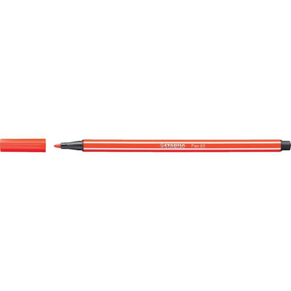 Viltstift stabilo 68/40 lichtrood(68/40)