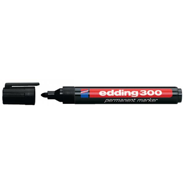 Viltstift edding 300 perm rond 1.5-3mm zwart