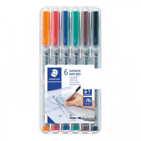 Viltstift staedtler ohp lumocolor m 315 wp6