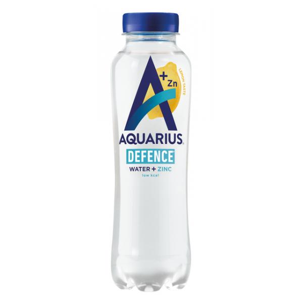 Frisdrank aquarius hydration lemon petfles 0.40l(241459)