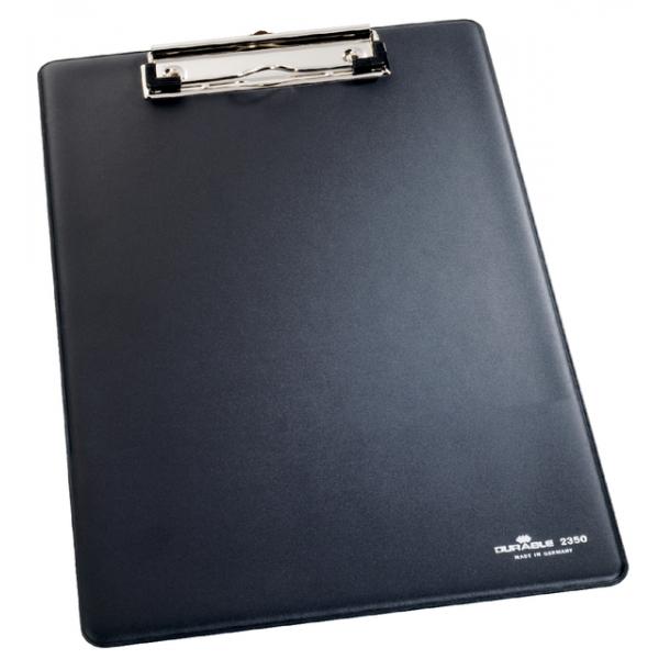 Klembord durable 2350 a4 kopklem zwart