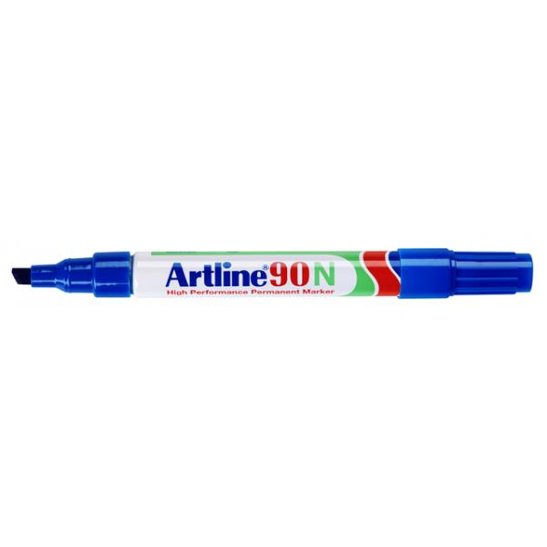 Viltstift artline 90 perm schuin 2-2.5mm bl