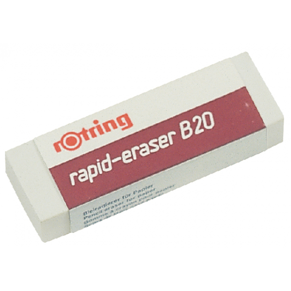 Gum rotring b20 potlood 551120 65x23x10mm
