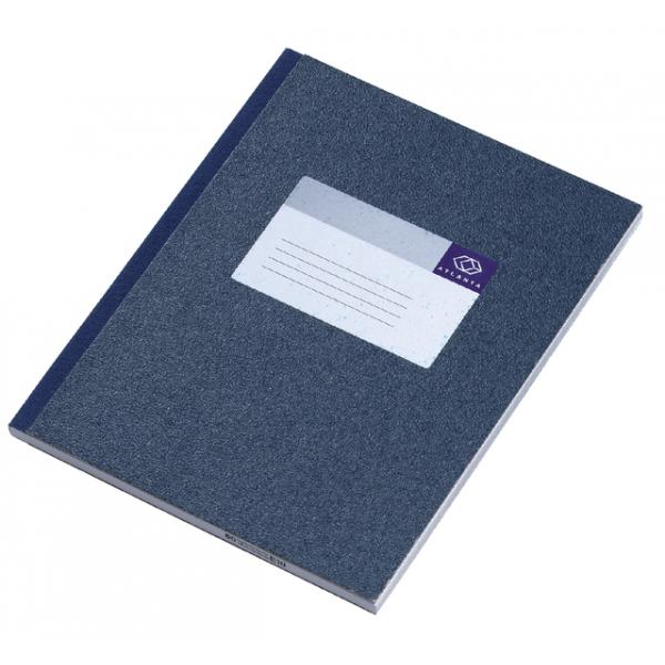 Register breedkwarto a1012-256 100blad blauw