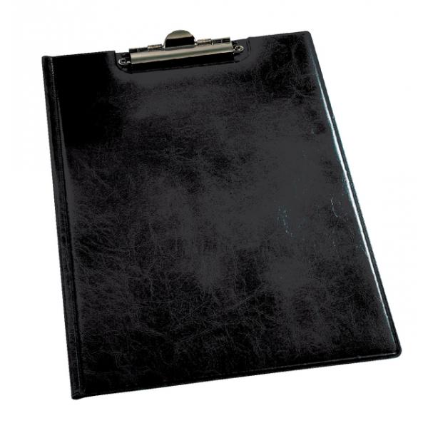 Klemmap durable 2355 a4 kopklem met insteek zwart