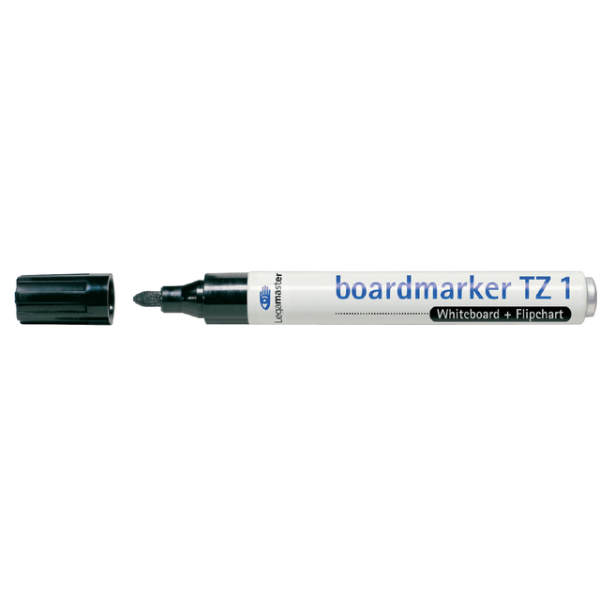 Viltstift lega tz1 whiteboard rond 1-3mm zwart