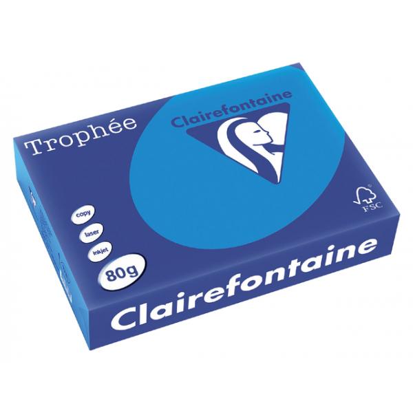 Kopieerpapier clairefontaine trophee a4 80gr cbl