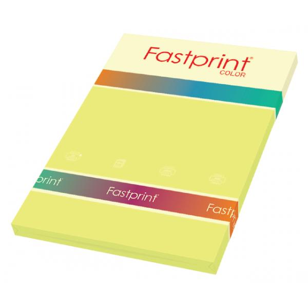 Kopieerpapier fastprint a4 160gr geel
