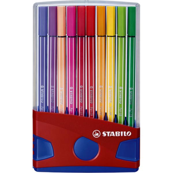 Viltstift stabilo 68 colorparade ass eurolock(6820-031)