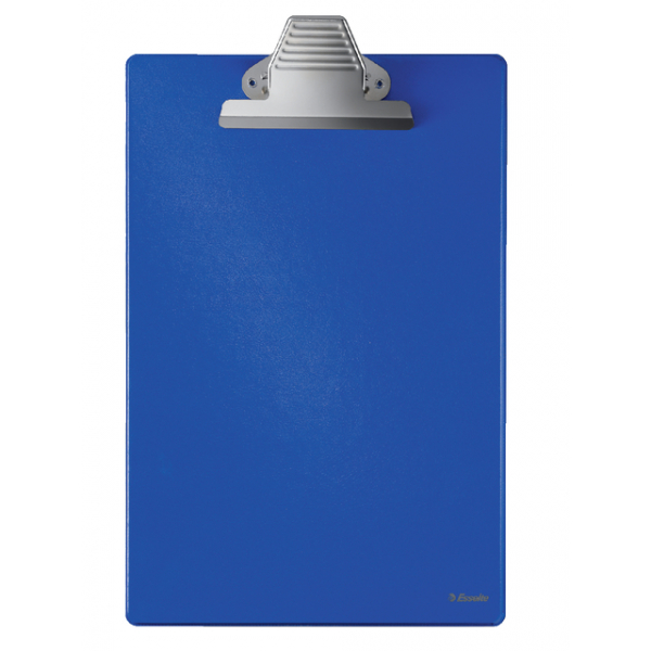 Klembord pvc esselte 27355 360x220mm blauw